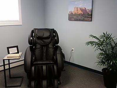 Chiropractic Mill Hall PA Medical Massage Chair
